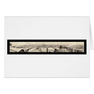 Stockyards Chicago Photo 1899 Card