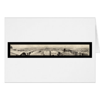 Stockyards Chicago Photo 1899 Greeting Cards