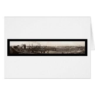 Stockyards Omaha NE Photo 1914 Card