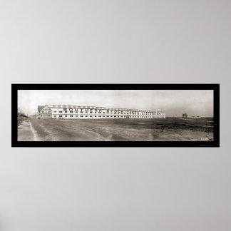 Stockyards Richmond VA Photo 1909 Poster