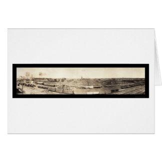 Stockyards South Omaha Photo 1908 Card