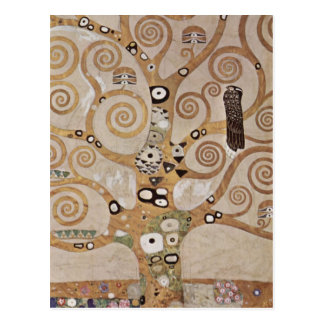 Stoclet Fries Tree Of Life Postcard
