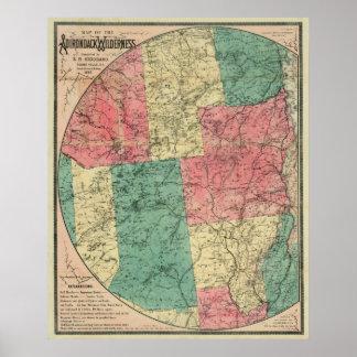 Stoddard Adirondacks 1883 Poster
