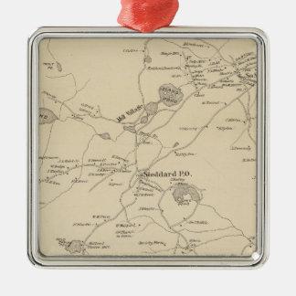 Stoddard, Cheshire Co Metal Ornament