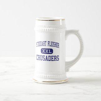 Stoddart Fleisher Crusaders Philadelphia 18 Oz Beer Stein