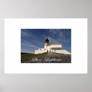 Stoer Lighthouse Poster