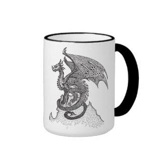 Stoic Dragon Ringer Mug