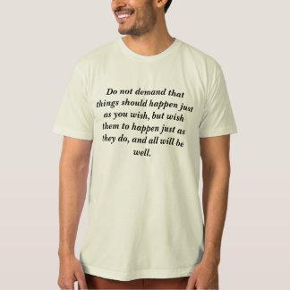 Stoic philosophy T-Shirt