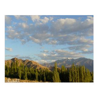 Stok range, Ladakh, India Postcard