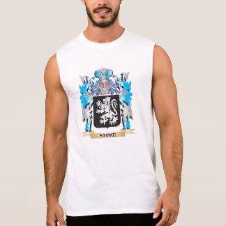 Stoke Coat of Arms - Family Crest Sleeveless Tee