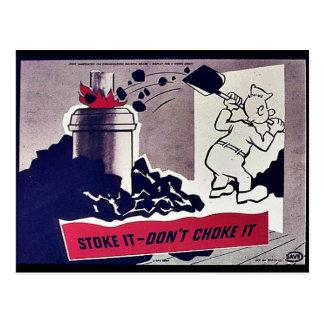 Stoke It-Don't Choke It Postcards