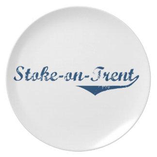 Stoke-on-Trent Plate
