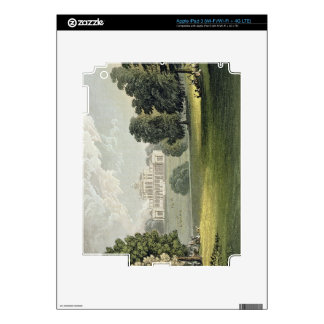 Stoke Park, from Ackermann's 'Repository of Arts', Skins For iPad 3
