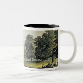 Stoke Park, from Ackermann's 'Repository of Arts', Two-Tone Coffee Mug
