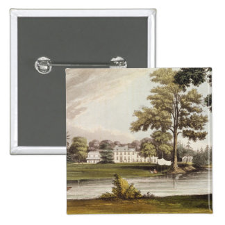 Stoke Place, from Ackermann's 'Repository of Arts' Button