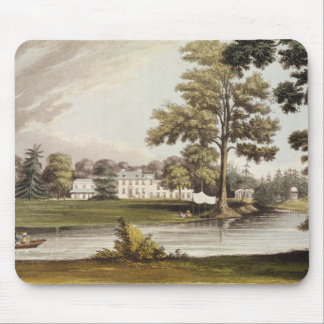 Stoke Place, from Ackermann's 'Repository of Arts' Mouse Pad
