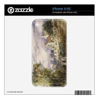 Stoke Poges Church, 1833 (w/c on paper) Skins For iPhone 4S