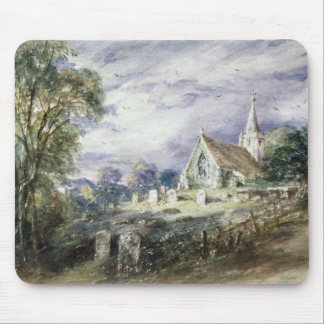 Stoke Poges Church Mouse Pad