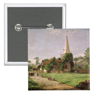 Stoke Poges Church Pinback Button