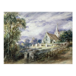 Stoke Poges Church Postcard