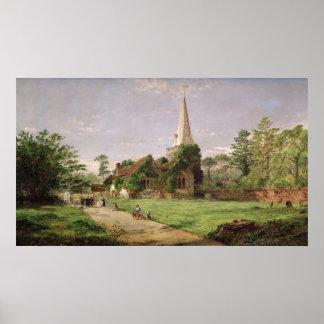 Stoke Poges Church Poster