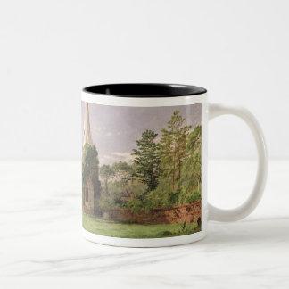 Stoke Poges Church Two-Tone Coffee Mug