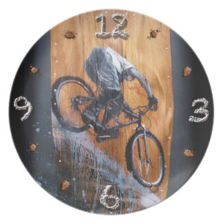 Stoked o' Clock Plate