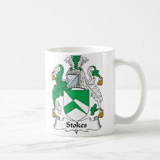 Stokes Family Crest Coffee Mug