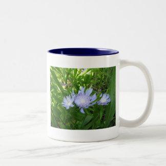 Stokesia, Stokes Aster Two-Tone Coffee Mug