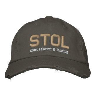 STOL Short Take-Off & Landing Embroidered Baseball Hat