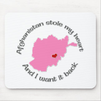 Stole my Heart Afghanistan Mouse Pad