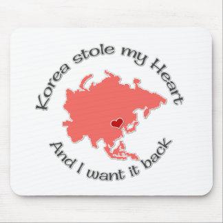 Stole my Heart Korea Mouse Pad