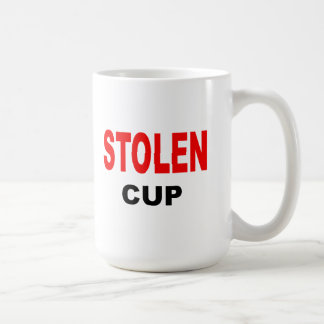 Stolen Cup Classic White Coffee Mug