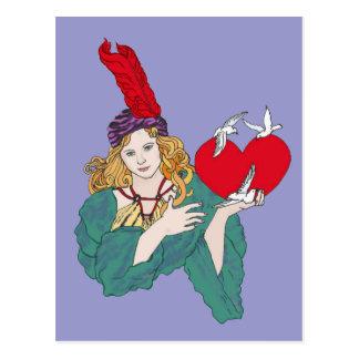 Stolen Hearts Postcard