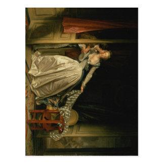 Stolen Kiss - Fragonard Postcard