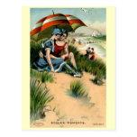 Stolen Moments, Beach Romance Vintage Post Cards