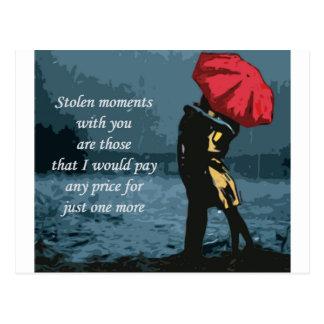 Stolen Moments Postcard