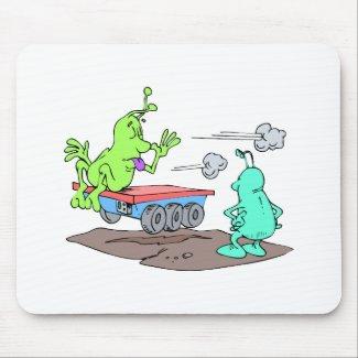 Stolen rover mousepad
