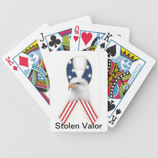 Stolen Valor Playing Cards