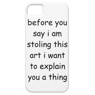 stoling this art iPhone 5 cover