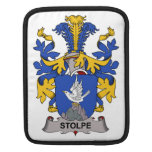 Stolpe Family Crest iPad Sleeves