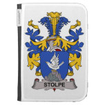 Stolpe Family Crest Kindle Folio Cases