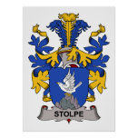 Stolpe Family Crest Print