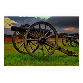 Stom sobre el campo de batalla postal