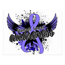 Stomach Cancer Awareness 16 Postcard