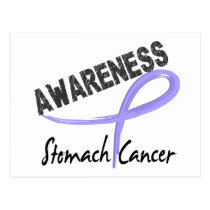 Stomach Cancer Awareness 3 Postcard