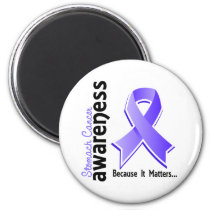 Stomach Cancer Awareness 5 Magnet