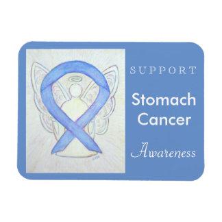 Stomach Cancer Awareness Angel Custom Magnet