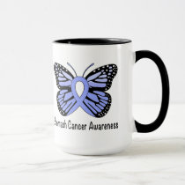 Stomach Cancer Awareness Butterfly of Hope Mug