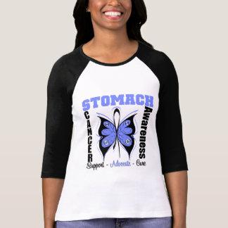 Stomach Cancer Awareness Butterfly T Shirt